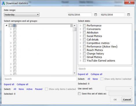 Adwords Editor Download Statistics