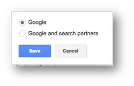 Google And Search Partners