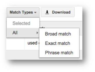 Match Type