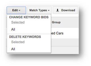 Merge Ad Groups Or Split Ad Groups