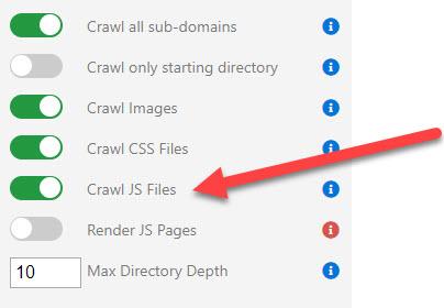 Crawl JS Files