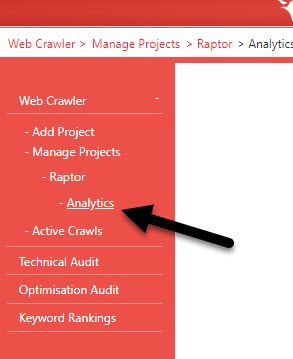 Project Analytics Link