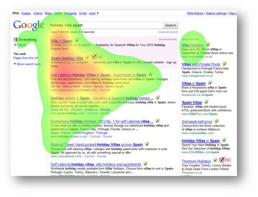 Target Search Page Location Bidding